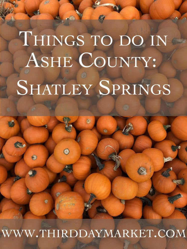 Things to Do in Ashe County | Shatley Springs Inn & Restaurant