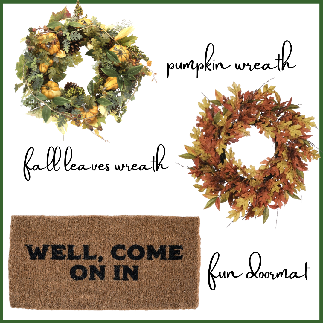 How to style your front porch for fall