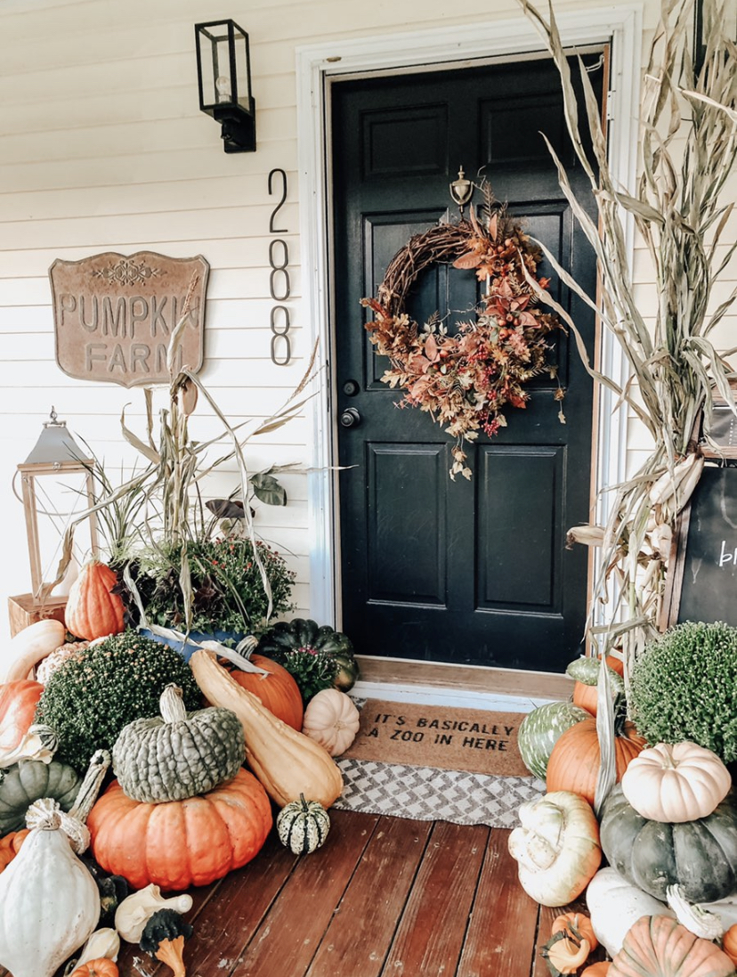 How to style your front porch