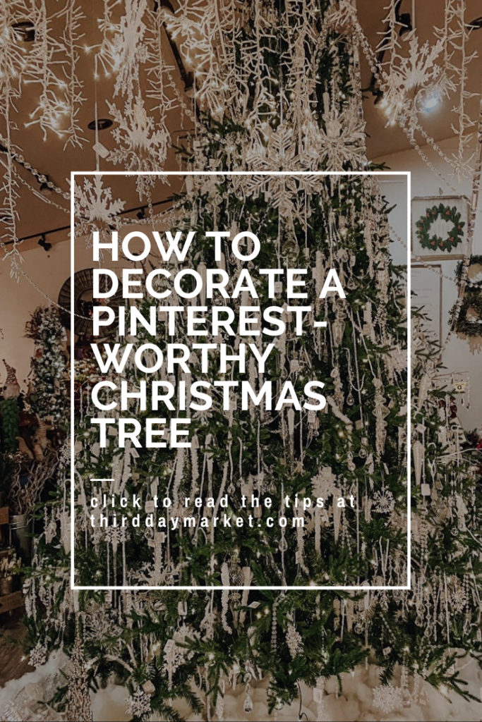 How to decorate a Pinterest-worthy Christmas Tree