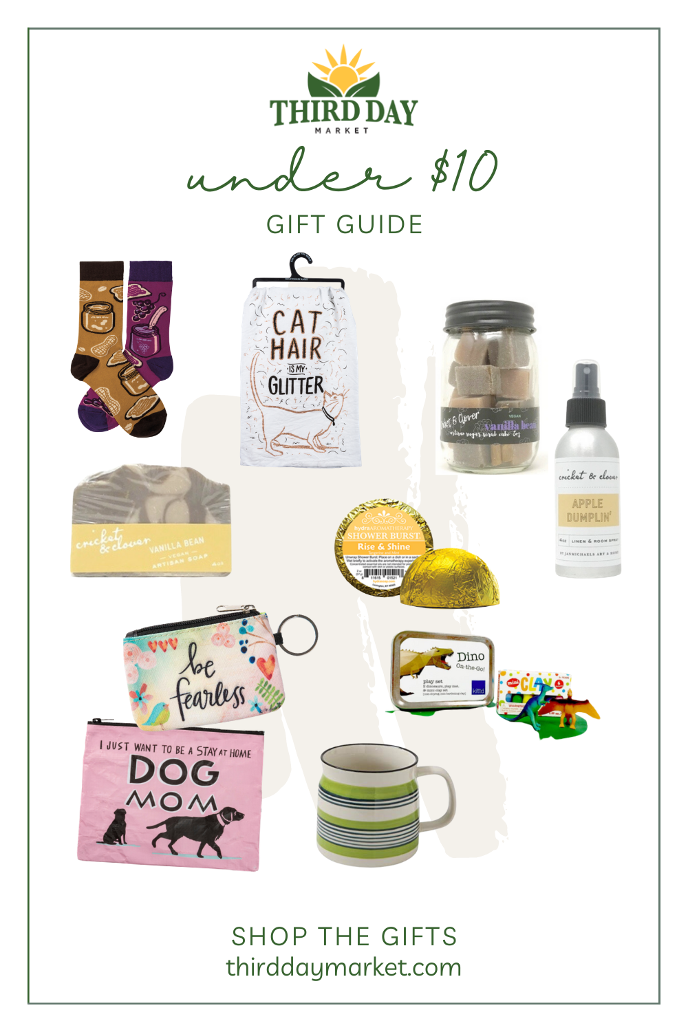 Under $10 Gift Guide